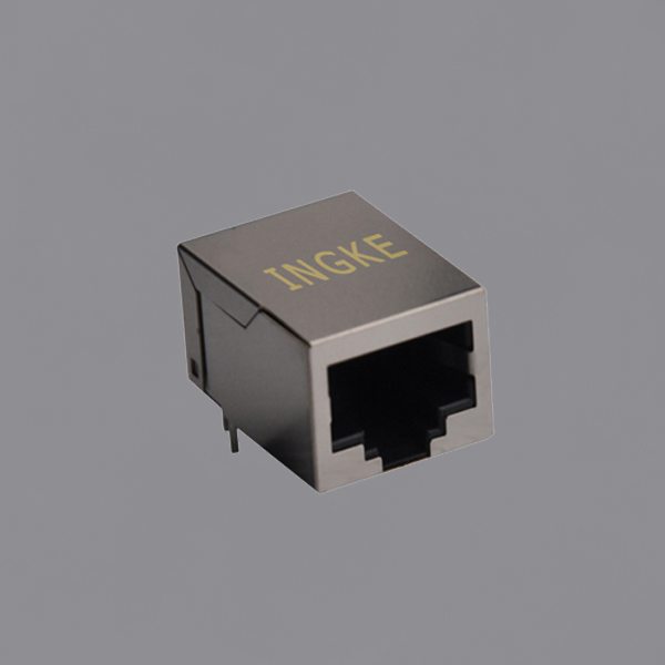 YKJD-8201NL 10/100 BASE-T Tab Down RJ45 Magjack Connector without LED